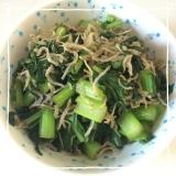 小松菜とちりめん煮꒰ ♡´∀`♡ ꒱