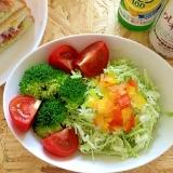 4種類野菜のあっさりサラダ♪