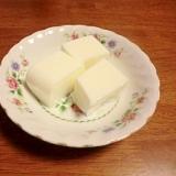 しっかり固まる杏仁豆腐