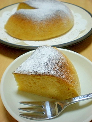 「炊飯器で作るホットケーキミックス」で野菜ケーキ