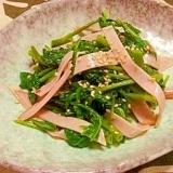 空芯菜の中華サラダ