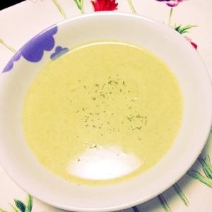 温まろ〜黄くなったブロッコリースープ