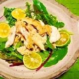 減塩☆カレー風味サラダチキン