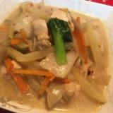 ごはんに合う!6品目の野菜と鶏肉のクリーム煮