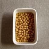 炊飯器でひよこ豆の水煮