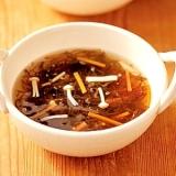 もずくと野菜のスープ
