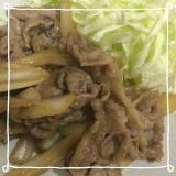 簡単豚の生姜焼き꒰ ♡´∀`♡ ꒱