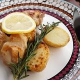 ローズマリーとレモンが香るチキンソテー