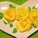 卵焼き☆黄色いバラ