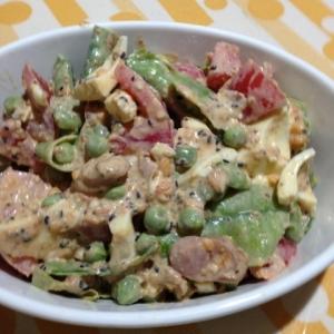 えんどう豆のサラダ