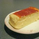 しっとり美味しい☆スフレチーズケーキ!