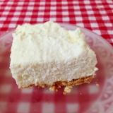 豆腐クリームでレアチーズケーキ♡