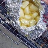 【BBQ】にんにくのホイル焼き