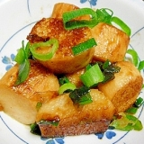 自然薯のバター醤油焼き