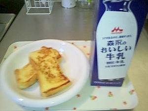 普通のフレンチトースト