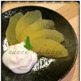 大人の味♪簡単な林檎の白ワイン煮☆