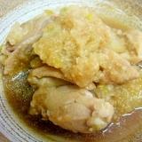 トロトロおいしい^^鶏肉と白菜のみぞれ煮