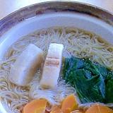 お腹に優しい、柔らか温麺(素麺)