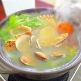〆まで美味しい★たっぷり野菜とハマグリの旨鍋
