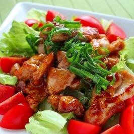 鶏肉のマヨポン炒め~塩麹~