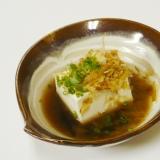 立ち呑み屋風 湯豆腐