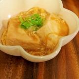 塩豆腐で…❤豆腐の中華あんかけ煮