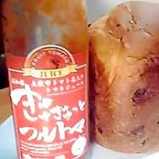 HBでトマトジュースパン