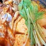 韓国グルメ究極の味!ケジャン鍋(チゲ)
