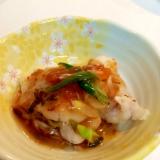 ご飯がすすむお魚料理♪ 鱈の梅ポン酢あんかけ