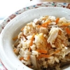 アレンジいろいろ「お米」が主役の炊き込みご飯献立