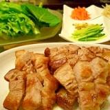 野菜!!お肉!!サムギョプサル☆スタミナ満点☆