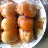 アレンジ自在な「みたらし団子」