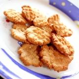 糖質制限☆ピーナッツとココナッツのチーズクッキー