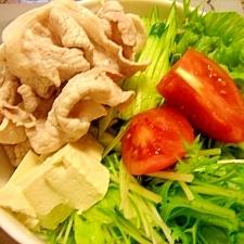 野菜たっぷり☆冷しゃぶ