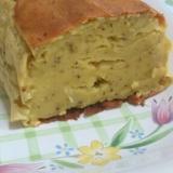 ミキサーで簡単☆さつま芋と豆腐のパウンドケーキ