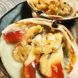ホッキ貝の塩焼き