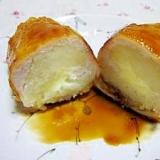 ♪お弁当に☆ささみのじゃがチーズ巻き♪