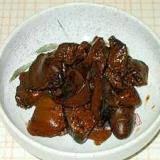鶏肝ソース炊き