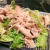 サラダをお腹いっぱい食べよう!「豚しゃぶサラダ」
