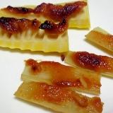 山の恵み☆うどと筍の味噌焼き