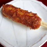 きりたんぽのごま味噌たれ焼き