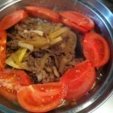 トマトすき焼き