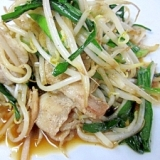 中華食堂のワザ☆ シャキッと「肉もやし炒め」