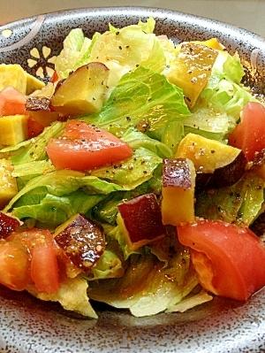 トマトとスイートポテトのサラダ☆