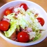 レタスと生ハムの簡単サラダ☆