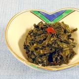 苦味と香りを楽しむ!おいしい蕗の葉の佃煮