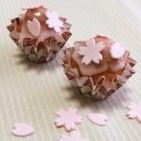 春色*桜のカップケーキ