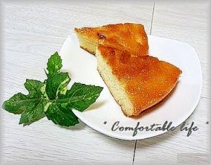 *キャラメルソースで簡単!キャラメルチーズケーキ