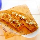 シラスチーズのスティックトースト
