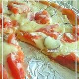 薄力粉で簡単☆フライパンピザ